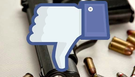 venda de armas no facebook e instagram