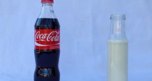 Coca-Cola with milk - See what happens when you mix