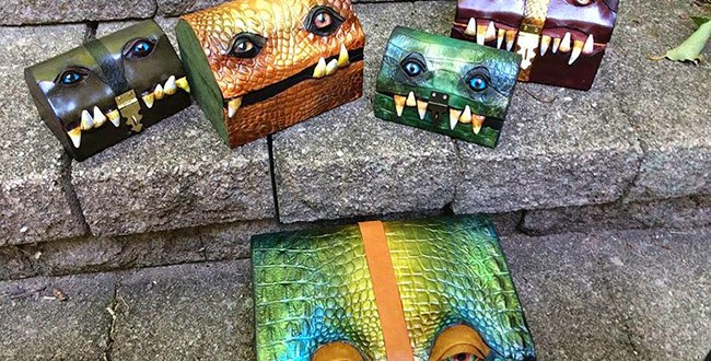 Women bag shaped monsters