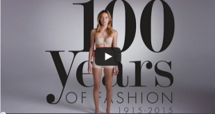 100 years of fashion in just 2 minutes