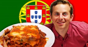 Americans prove Portuguese food for the first time