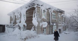 Photographer records life in the coldest village World