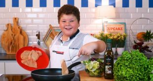 Remember PEDRO JORGE? The cutest cook the world's her birthday today!