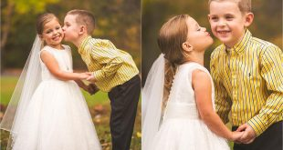 "Girl of 5 years, with heart disease, ""married"" with his best friend before risky surgery!"