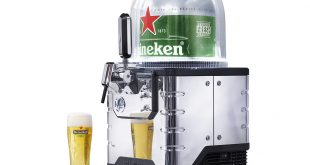 "Heineken lança ""Nespresso beer"" that is able to serve 8 liters per capsule!"