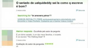 These are the questions and answers most stupid Yahoo that will want to even see!