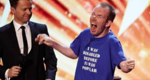 (Video) Comedian with cerebral palsy wins Britain's Got Talent 2018