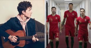 "Shawn Mendes is the ""voice"" of the official song of the National Team for the World"