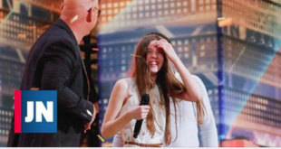 """Janis Joplin de 13 years"" She received the Golden Button ""America's Got Talent"""