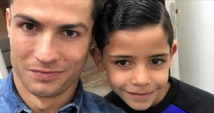 "Cristiano Junior made ""tattoo"" to support the father"